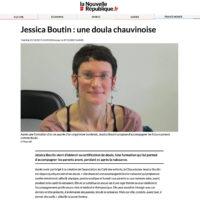 Jessica Boutin : une doula chauvinoise