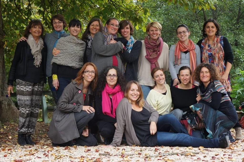 Rencontre des membres de l'association lors des universités 2015 en Bourgogne